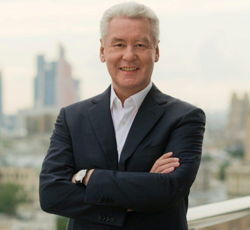 Собянин, мэр Москвы
