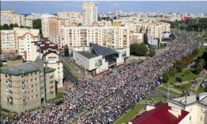 13 сентября Минск протестный митинг