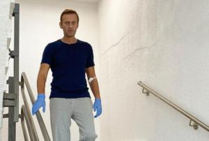 Навальный в клинике Шарите